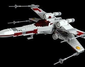 LEGO Starwars X-Wing Starfighter 3D