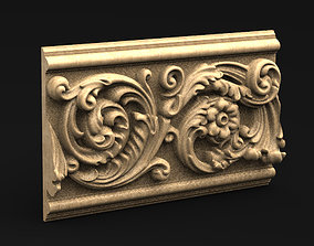 Decorative Panel 3 3D model sculpture
