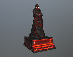 lava statue 3 3D model