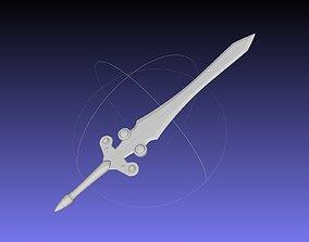Tales of Vesperia Flynn Sword Printable Model