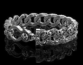 Bracelet for a real biker 3D printable model