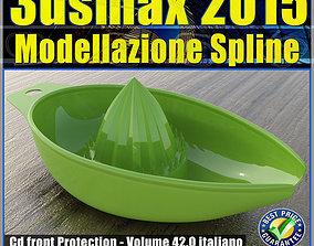 animated 3ds max 2015 Modellazione Spline v 42 Italiano cd