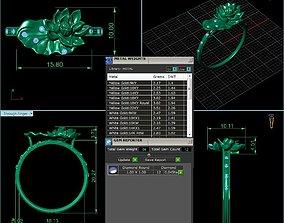 3D printable model The lotus