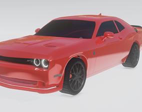 Dodge Challenger srt hellcat sport 3D