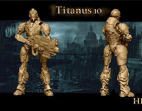 3D printable model Heresylab Redeemers Titan Robot 10