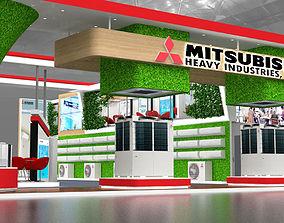 21X17Mtr Exhibition Stall Design 3D