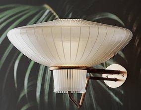 Pair of Large Wall Lamp by Erik Gunnar Asplund 3D