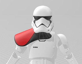 Star Wars TLJ Storm trooper Full Armour 3D printable model
