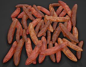 Sausages Meat Pile 3D model
