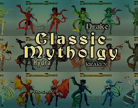 Acheron Series Classic Mythology 3D model