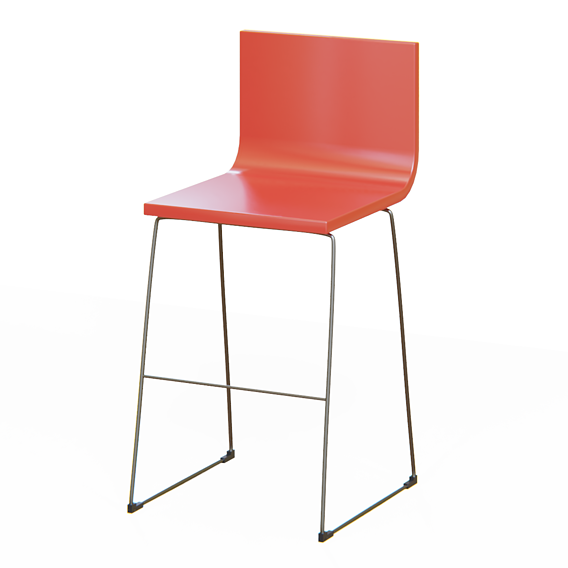 Chair Lowpoly