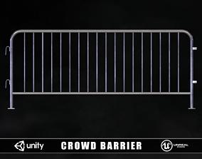 3D asset Crowd Barrier