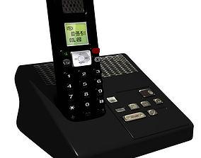 3D model Cordless Phone