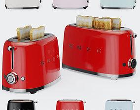Smeg Toaster TSF01 and TSF02 3D model