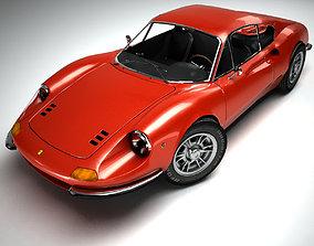 3D Ferrari Dino 246 GT 1969