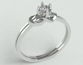 Ringmodel105 - Engagement ring