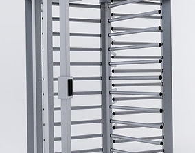 3D model Digicon turnstile door
