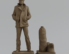 THE LONE SAILOR - replica - 3D print model