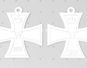 3D print model WW1 WW2 German Prussian Iron Cross 2nd 1