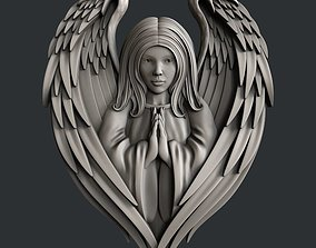 3d STL models for CNC router Angel