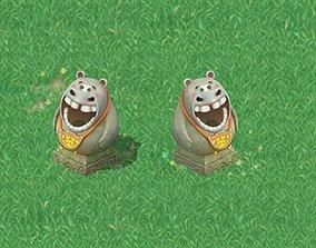3D model Cartoon World - Hippo Trash