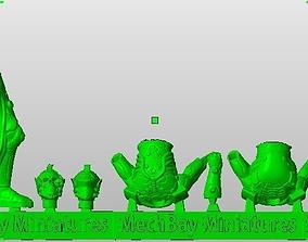 3D printable model 28 mm Sci-Fi Knight death