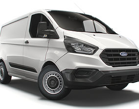 Ford Transit Custom L1H1 Leader UK spec 2020 3D model