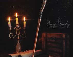 3D print model George Weasley Wand - Harry