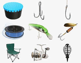 3D Fishing equipment