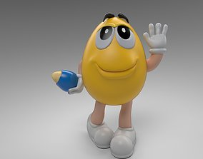 MandM s Character 3D asset