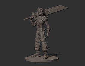 Cloud - Final Fantasy 3D printable model