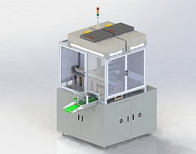 Automatic assembling of touch screen 3D model