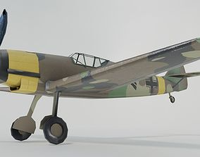 3D model Messerschmitt Bf109B