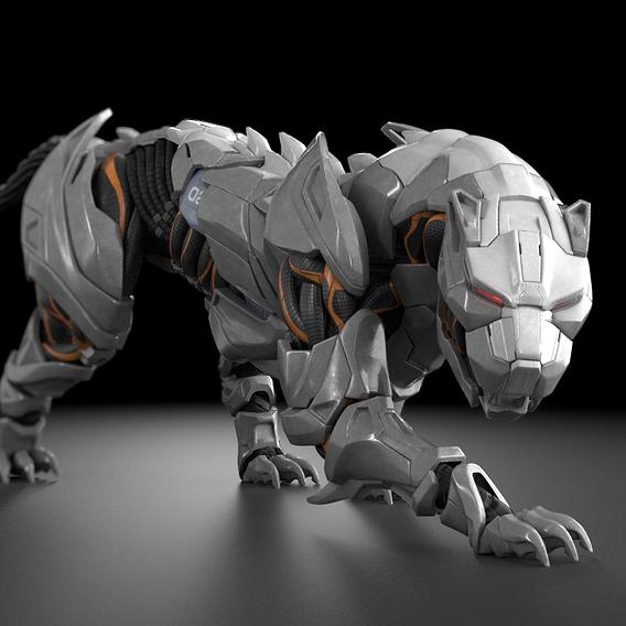 Mecha Panther