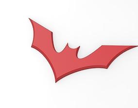 3D printable Batman Beyond emblem for cosplay costume