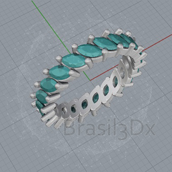 Ring infinity navete 3D file
