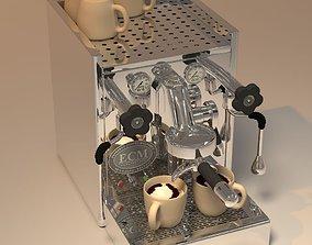 3D model ECM coffeemaker