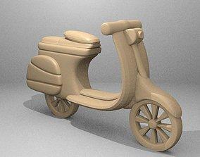 Simple Vespa 3D print model