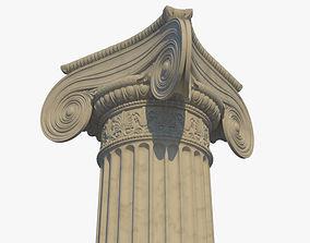 Ionic column corner d 3D model