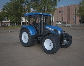 New holland Tractor wheeld 3D model