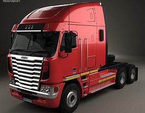 freightliner 3D Freightliner Argosy Tractor Truck 2011