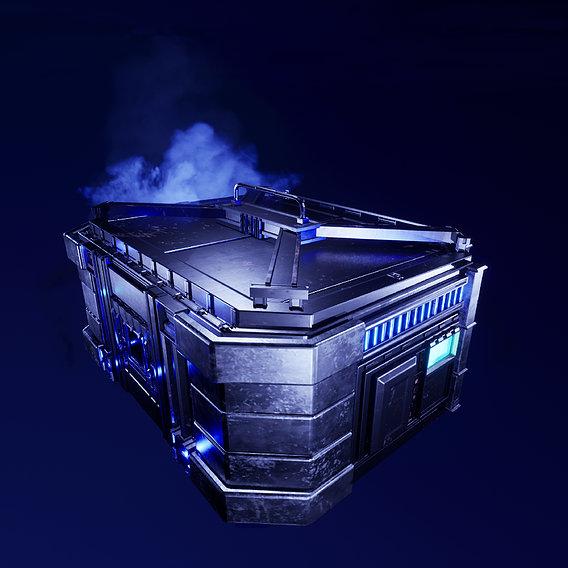 Cyberpunk Crate 6