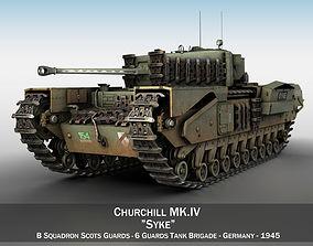 Churchill MK IV - Syke 3D model