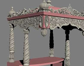 sculptures Decor arch church 3D print model