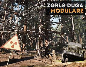 3D model ZGRLS DUGA PRIPYAT CHERNOBYL - 2 GAME