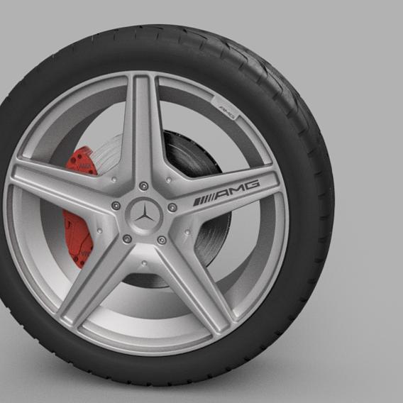 AMG wheel 2