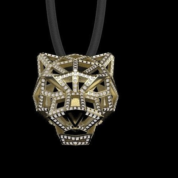 PENDANT  JEWELRY PANTHER