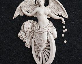 3D print model fortune goddess 1