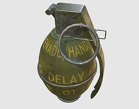 Army Frag grenade 3D model