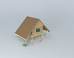 3D Cottage vacation home